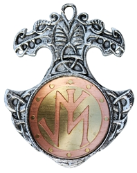 Norse Bindrune Charm Pendant for Confidence