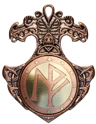 Norse Bindrune Charm Pendant for Perfect Love