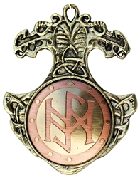 Norse  Bindrune Charm Pendant for Positive Life Change