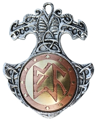 Norse Charm Pendant for Planning Ahead
