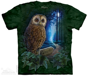 Owl T-Shirt | The Way of the Witch Tee Shirt by Lisa Parker