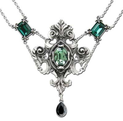 Queen of the Night Necklace by Alchemy Gothic
