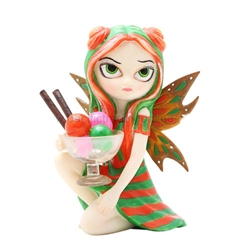 Rainbow Sherbet Fairy Figurine by Jasmine Becket-Griffith