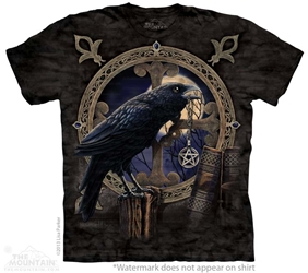 Raven T-Shirt with The Talisman design by Lisa Parker 10-3826
