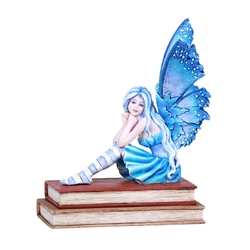 Reading Fairy Statue Book Muse by Amy Brown  Reading Fairy Statue with Book by Amy Brown