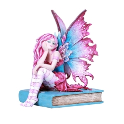 Reading Fairy Statue with Book by Amy Brown Reading Fairy Statue with Book by Amy Brown