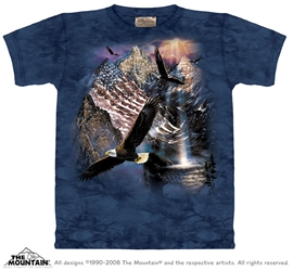 Reflections of Freedom T-Shirt Eagle Totem Tee