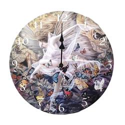 Revelation Clock by Sheila Wolk