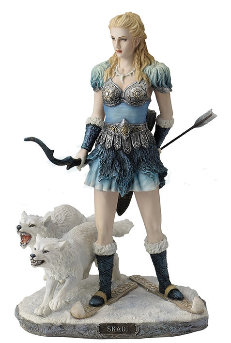Skadi - Norse Goddess Of Winter, Hunt And Mountains Statue