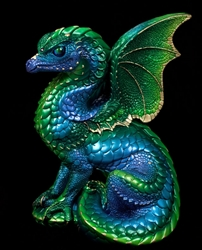 Spectral Windstone Editions Emerald Peacock  Dragon