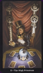 Steampunk Tarot Set by Barbara Moore