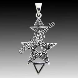 Sterling Silver 2nd Degree Pentacle Pendant