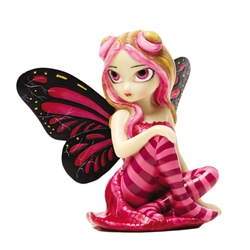 Strangeling Pink Lightning Fairy Fairy Figurine by Jasmine Becket-Griffith