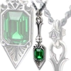 Sucre Vert Absinthe Spoon Necklace by Alchemy Gothic