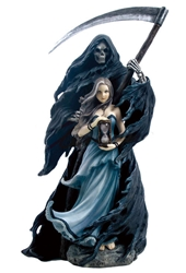 Summoning The Reaper Statue by Anne Stokes