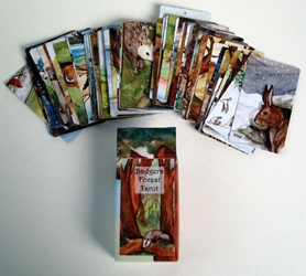 The Badgers Forest Tarot Deck by Nakisha self published