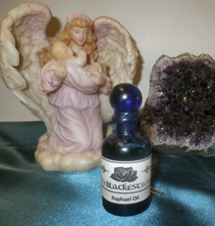 The Blackest Rose Archangel Raphael Oil