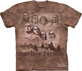 The Founders Native American Tee Shirt The Founders Native American Tee Shirt