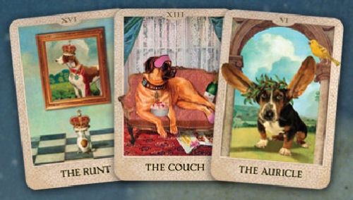 The Original Dog Tarot Deck by Heidi Schulman Self Published, Adorable!!