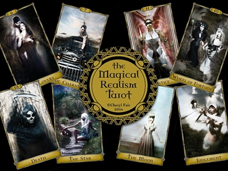 The Magical Realism Tarot Deck by Cheryl Fair Self Published