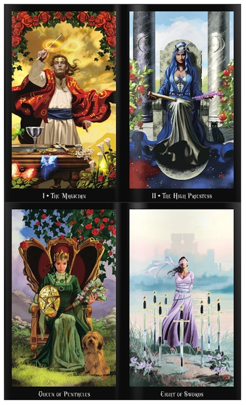 The Witches Tarot Deck and Book Set by Ellen Dugan