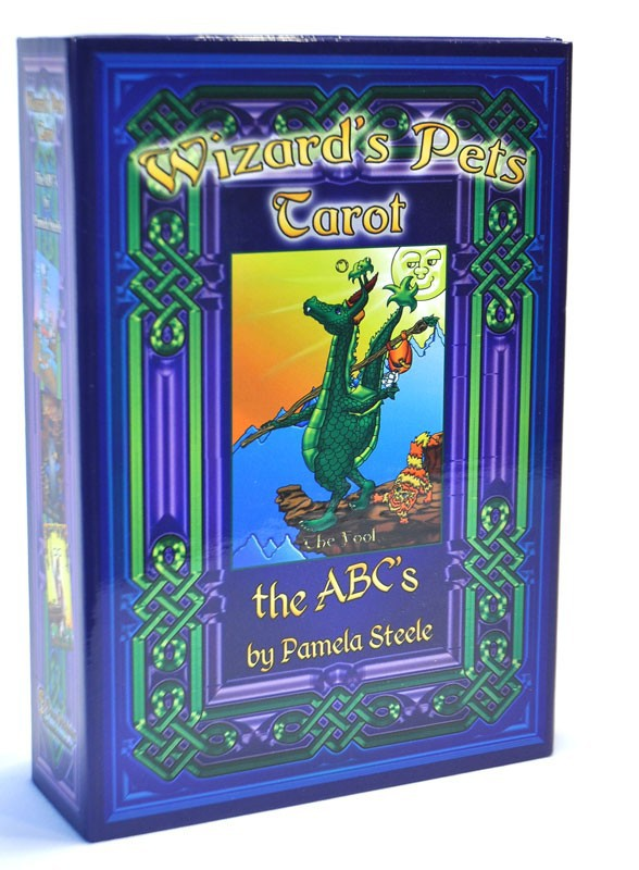The Wizard's Pet Tarot Deck by Pamela Steele Self Published