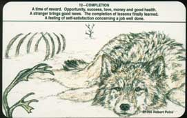 the wolf pack tarot deck by robert petro self published atwp