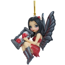 Time Fairy Ornament by Jasmine Becket-Griffith