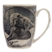 Two Wolves in Snow Coffee Mug - WISM