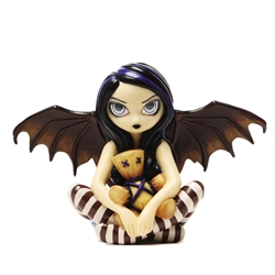 Voodoo In Blue Fairy Figurine by Jasmine Becket-Griffith