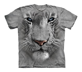 White Tiger Face 3252 T-Shirt