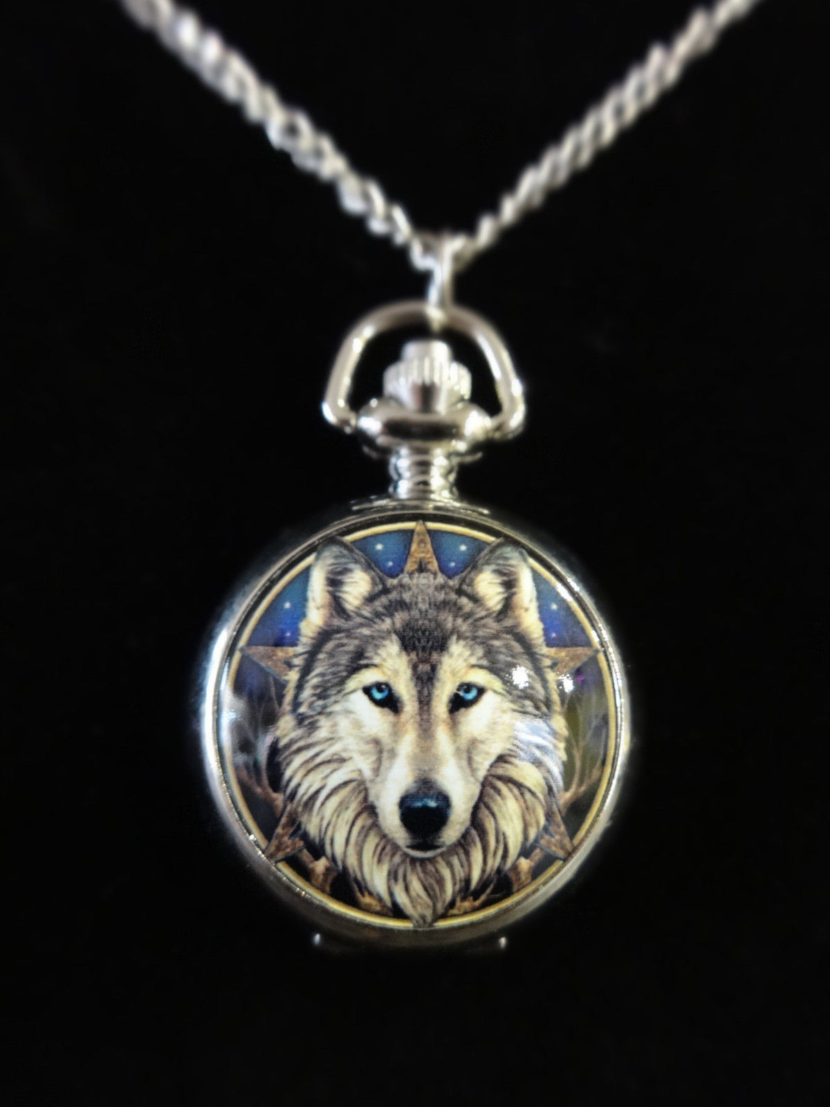 Wild One Wolf Pentacle
