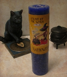 Witchs Night Candle