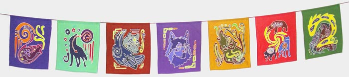 Wolf Spirit Garden Flags