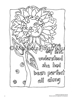 Woman and The Hourglass Uplifting Coloring Book - WHCB