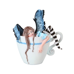 Amy Brown I Need Coffee Faery Figurine