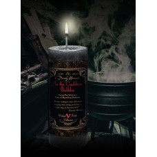As the Cauldron Bubbles Wicked Witch Halloween limited edition candle