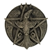 Dryad Designs Crescent Raven Pentacle Plaque by Paul Borda - 152-RP