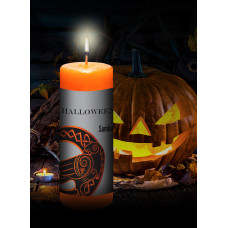 Halloween / Samhain Limited Edition Orange Candle