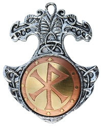 Bindrune Charm Pendant For Happiness & Friendship