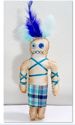 Tranquility Abounds – Blue Voodoo Doll for Peacefulness Tranquility Abounds – Blue Voodoo Doll for Peacefulness