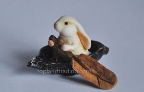 Bunny Rabbit Rowing Boat