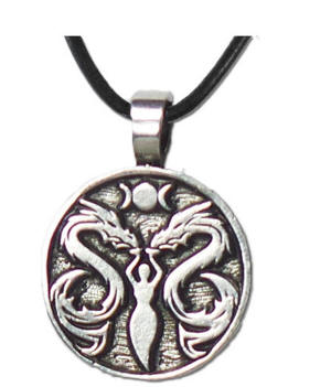 The Lady and The Dragon Pendant Collection  DR1May you touch dragons, dance with fairies,and talk to the moon