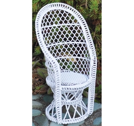 """Cottage Garden"" Miniature Fan Chair"
