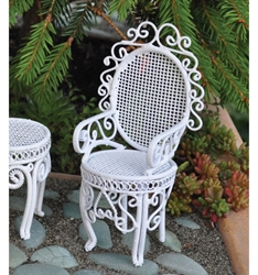 """Cottage Garden"" Miniature Fancy Arm Chair"