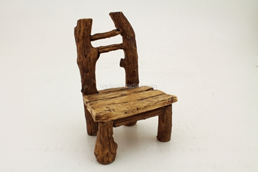 Faux Wood Chair T4114  H: 5.5""