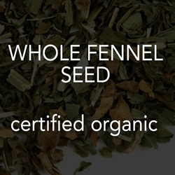 Fennel Seed, Whole *co