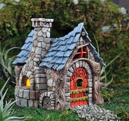 "Fiddlehead Fairy Village - Bakery 6"" H"