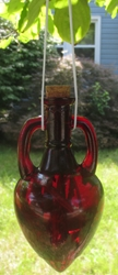 Fiery Protection Witch Bottle by The Blackest Rose
