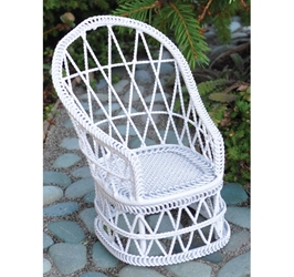 """Cottage Garden"" Miniature Garden Chair"